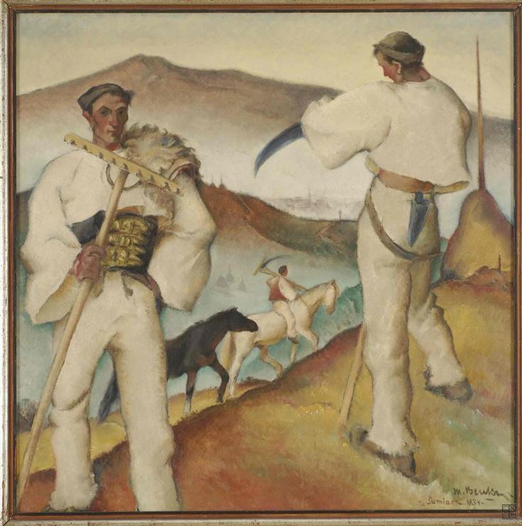 Martin Benka, Šumiac, 1934