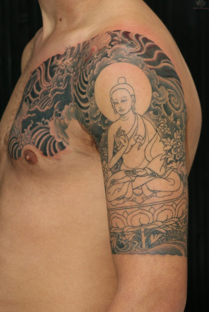 Da da danielle colby cushman tattoos - 18 Spiritual And Startling Buddhist Tattoo Designs
