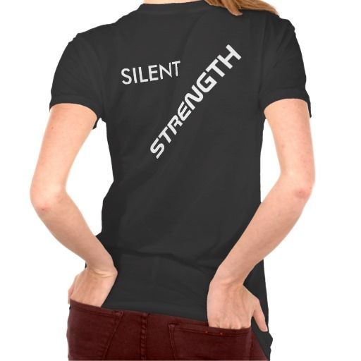 "Women's Bella Plus Shirt ""Silent STRENGTH"""""