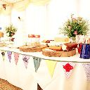 Beautiful handmade bunting love love
