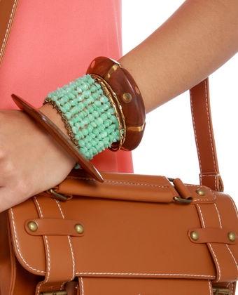 Chip Mate Mint Bracelet: Mint Green, Beaches Mint, Mates Mint, Bracelets Measuring, Photo, Mint Bracelets, Chips Mates, Lulus Bracelets, Bracelets Lovelulus