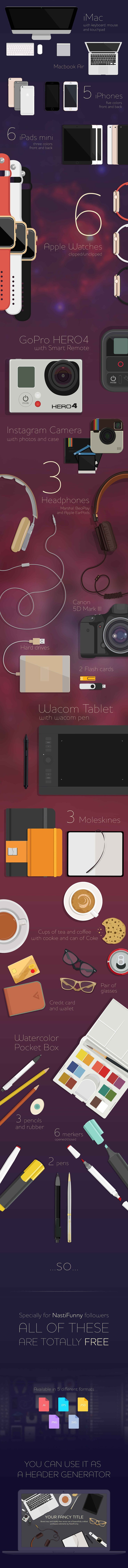 Elegant Vector Kit preview