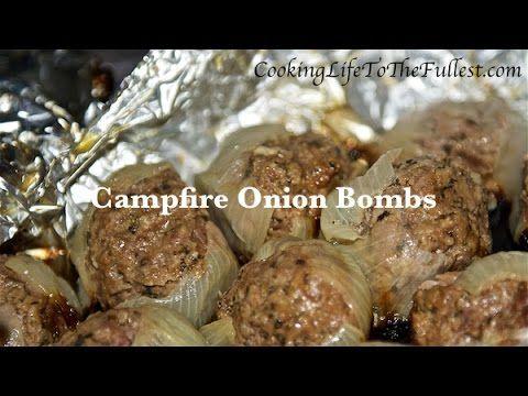 Campfire Onion Bombs