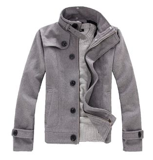 Men's Woolen Jacket (on sale for $39.95) | Cool Gifts For Guys | THE MINDFUL SHOPPER