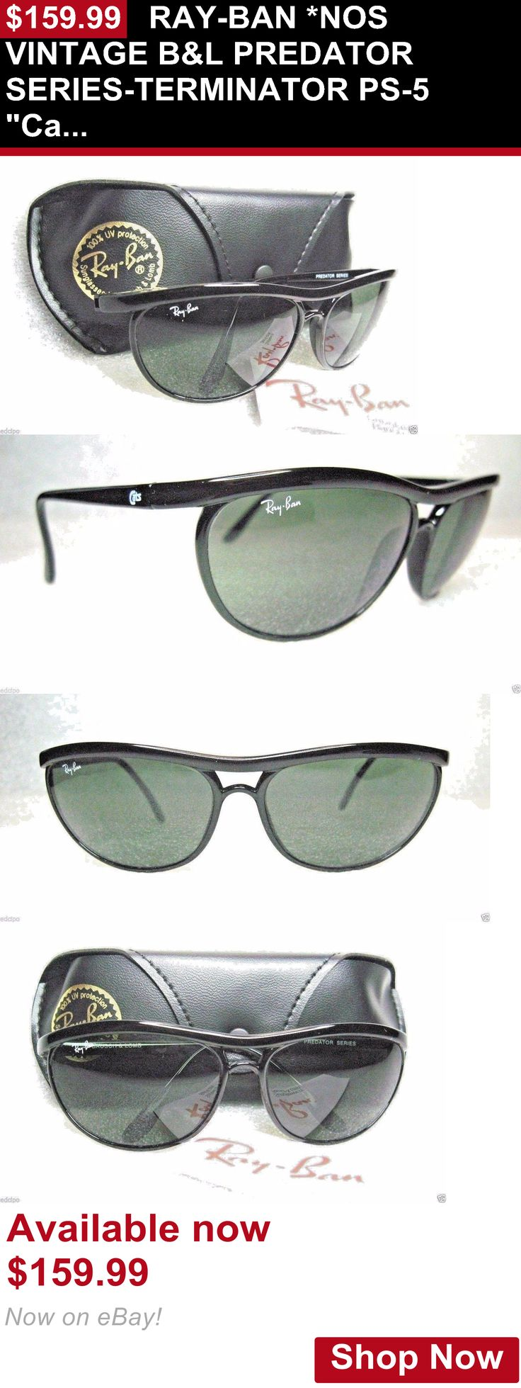Vintage accessories: Ray-Ban *Nos Vintage Bandl Predator Series-Terminator Ps-5 Cats W2172 Sunglasses BUY IT NOW ONLY: $159.99