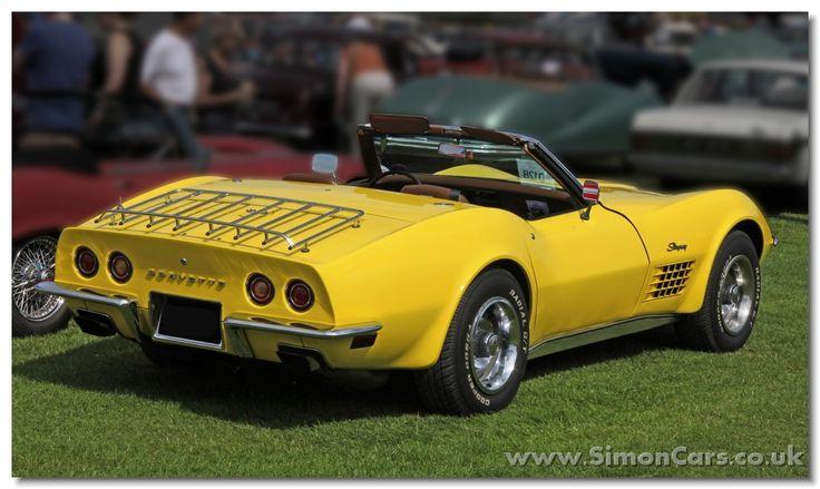 Chevrolette Corvette Stingray 1970 - Badge
