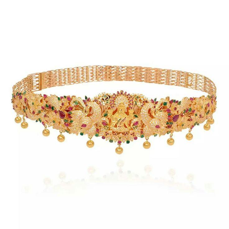 36 best vaddanam images on Pinterest | Indian jewellery design ...
