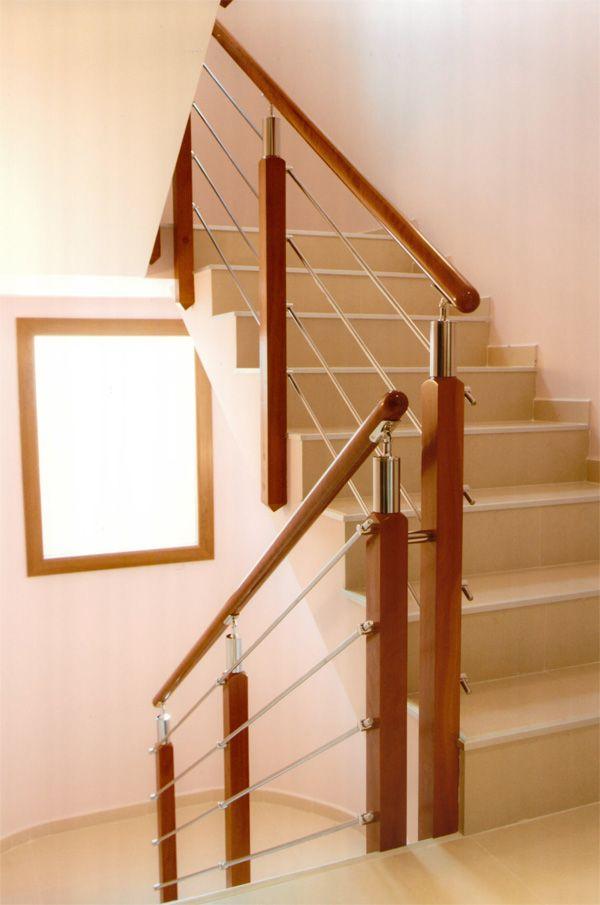 The 25 best barandales madera ideas on pinterest - Barandillas escaleras modernas ...