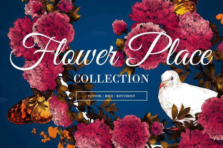 Flower place by Magnolia store on Creative Market