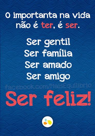 SEJA feliz! http://maisequilibrio.com.br/bem-estar/