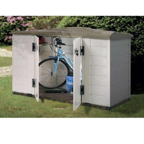 Coffre De Jardin Resine Pvc 1930l Evo Outdoor Storage Outdoor Decor Outdoor Storage Box