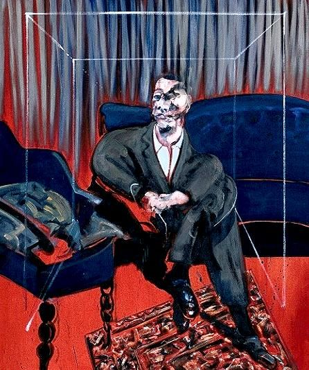 Francis Bacon, New York - United States, Seated Figure, 1961, Oil paint on canvas
