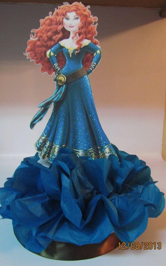 Brave Merida Princess Centerpiece  Disney by KhloesKustomKreation, $12.00
