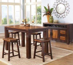 Set Meja Makan Minimalis Klasik | Alfah Furniture
