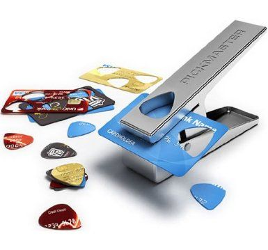 Pickmaster Plectrum Punch-Make Your Own Picks: Pickmaster: Amazon.co.uk: Musical Instruments