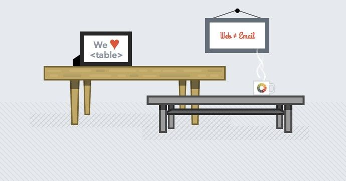 The need for HTML tables in email can be confusing for those just getting started or coming from the web design world. In this post, we answer the question, 'Why does email design require tables?'. #emailmarketing #emaildesign #HTML