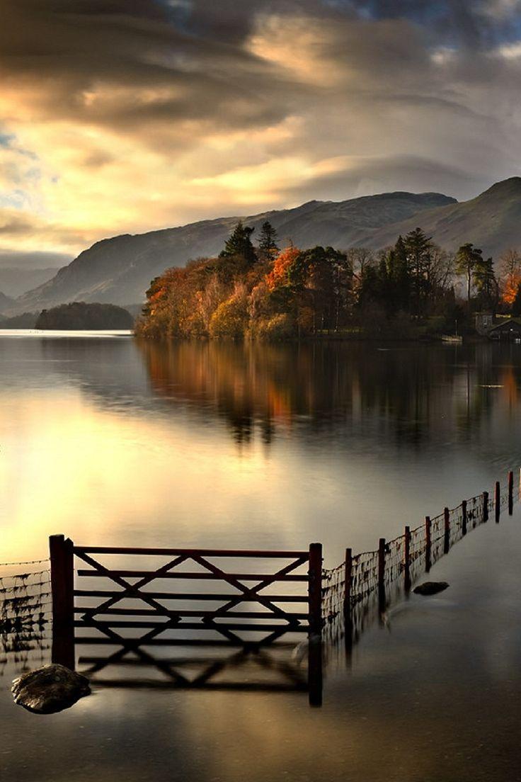 Derwentwater, England | The Land | Pinterest | Beautiful ...