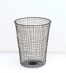 Wire Waste Paper Bin $45