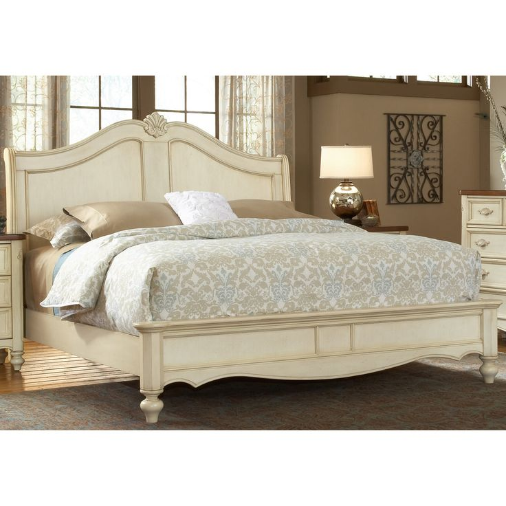 Crescent Manor Antique White Sleigh Bed   Overstock com Shopping   The Best  Deals on. 17 best ideas about White Sleigh Bed on Pinterest   Chalk paint