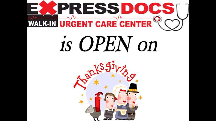ExpressDocs is Open on Thanksgiving, as well as all other holidays, so if you need us this Thursday, we are OPEN! #thanksgiving #open #holiday   #expressdocs #urgentcare #delray #delraybeach #southflorida #soflo #sofla #medicalcare #medicalcenter