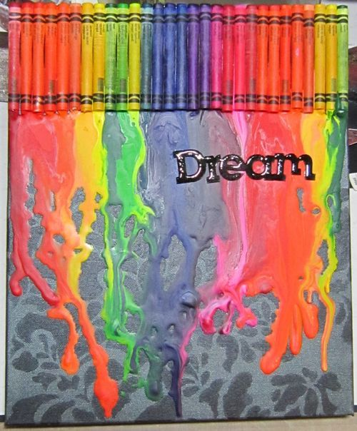 Crayons Mail: 46 Best Images About Crafts: Crayons And Color Pencils On