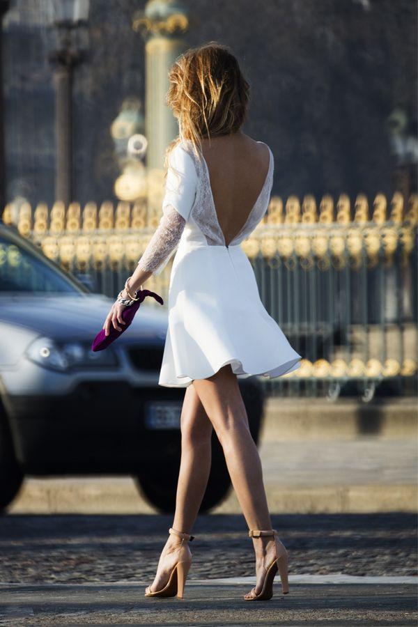Mariage : 50 robes dos nu repérées sur Pinterest | Glamour