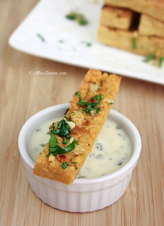Baked Chickpea Fries | cHowDivine.com  {Healthier  Alternative to French Fries. Crunchy Outside & Soft Inside.}
