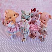 Buy Dolls & Toys handmade or order in an online shop on Livemaster