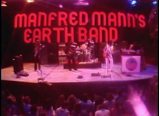 Manfred Mann's Earth Band - Blinded By The Light (Live Midnight Special 1977)