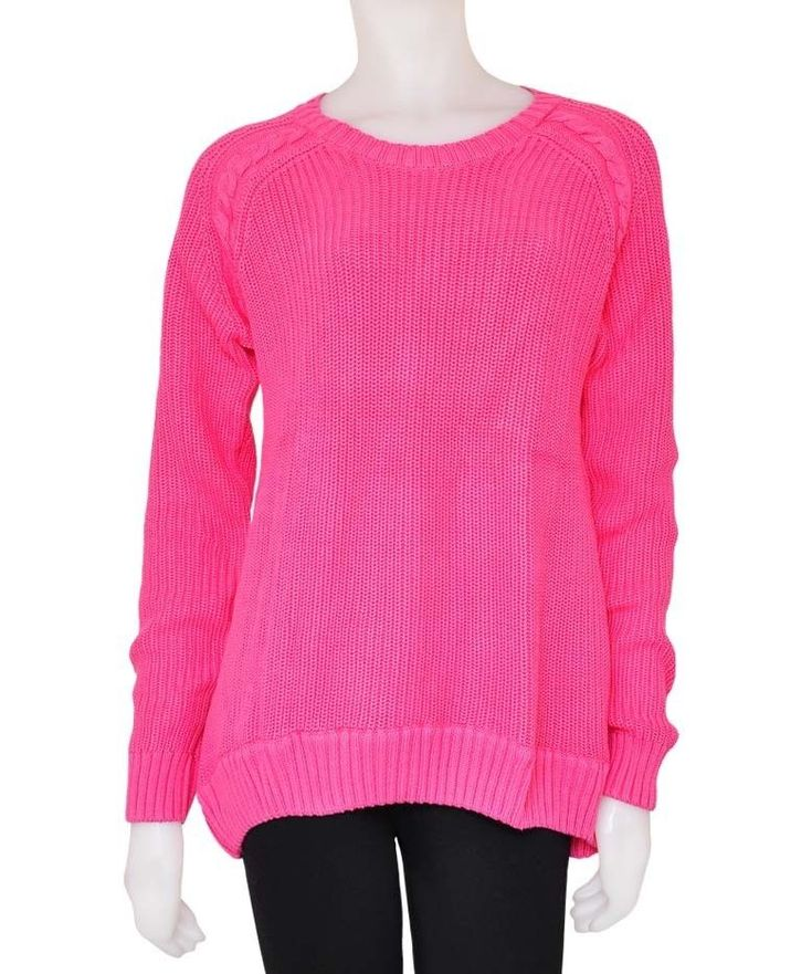 EX DOROTHY PERKINS LADIES JUMPERS WOMEN'S Hot Pink Knitted Jumpers RRP £29.99