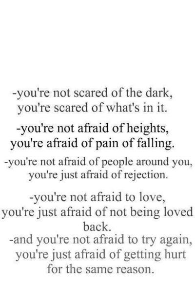 you are not...: Thoughts, Life, Inspiration, Afraid, Quotes, Truths, So True, You R, True Stories