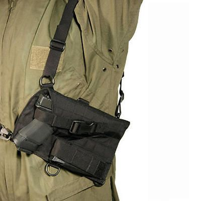Tactical Molle Pouches 177900: Blackhawk Holster 40Sh04bk Universal Spec-Ops Pistol Harness Black -> BUY IT NOW ONLY: $52.93 on eBay!
