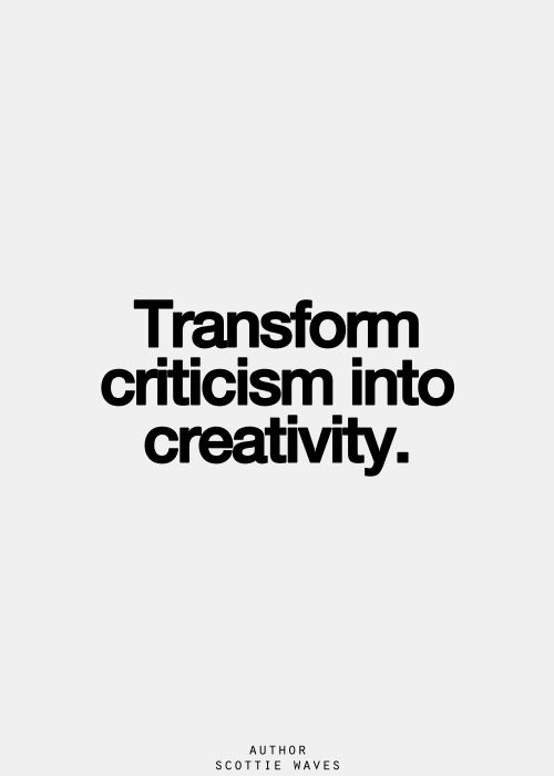 The ability to receive negativity and transform it into something positive ... is the ability to overcome.