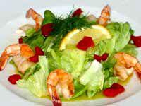 Японский салат с баклажанами