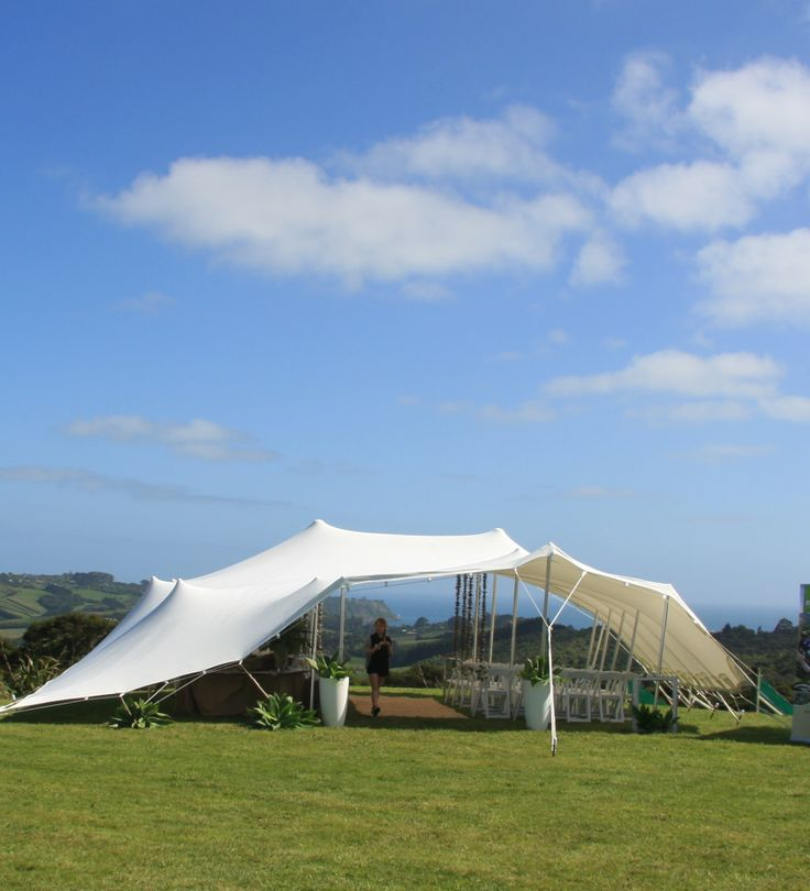A totally different take on the traditional marquee.