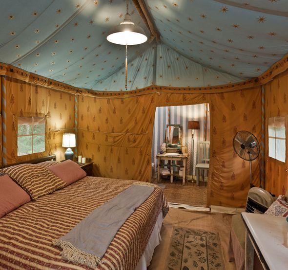 Tent Bedroom #32 - Dreamy Room In A TENT!