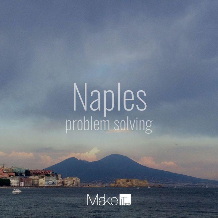 Naples: HEART AND SOUL #makeitnow #napoli #naples #problemsolving #italy #travel #sea #vesuvio #landscape #skyline #sunset #tramonto
