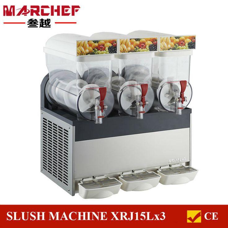 COMMERCIAL 45L Slushie Machine Slurpee Frozen Juice Slush Maker Granita XRJ15Lx3
