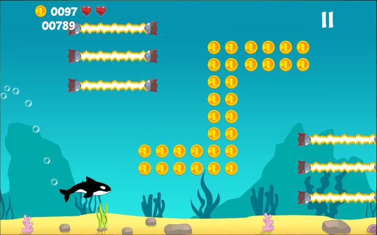 Underwater mini game 2d game design