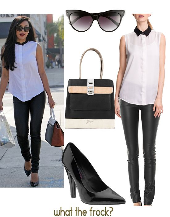 What the Frock? - Affordable Fashion Tips, Celebrity Looks for Less: Celebrity Look for Less: Naya Rivera Style
