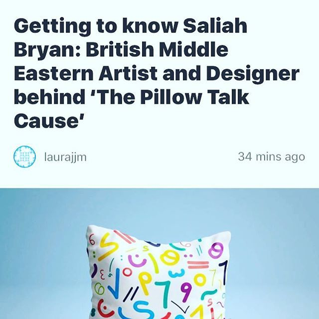 """Want to find out more behind the recent @reconnectingart exhibition and the @pillowtalkcause? This interview with @saliahgram explains all! Visit: www.reconnectingarts.com for more! . . . . . . #interview #press #release #exhibition #exclusive #knowledge #middleeast #arab #designer #design #lebanese #syrian #syria #art #artistsoninstagram #create #creative #community #power #connect #connection #good #instagood"" by @pillowtalkcause. #ganpatibappamorya #dilsedesi #aboutlastnight #whatiwore…"
