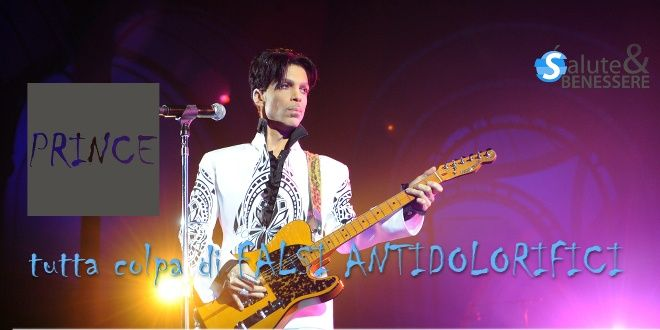 Prince, Il Dolore Cronico e La Contraffazione Dei Farmaci