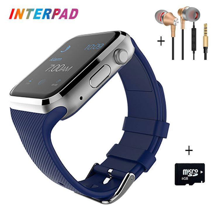 Original Interpad R9 Smart Watch Connected Android Bluetooth Pedometer Fitness Tracker Wrist Watch With SIM TF Camera Smartwatch