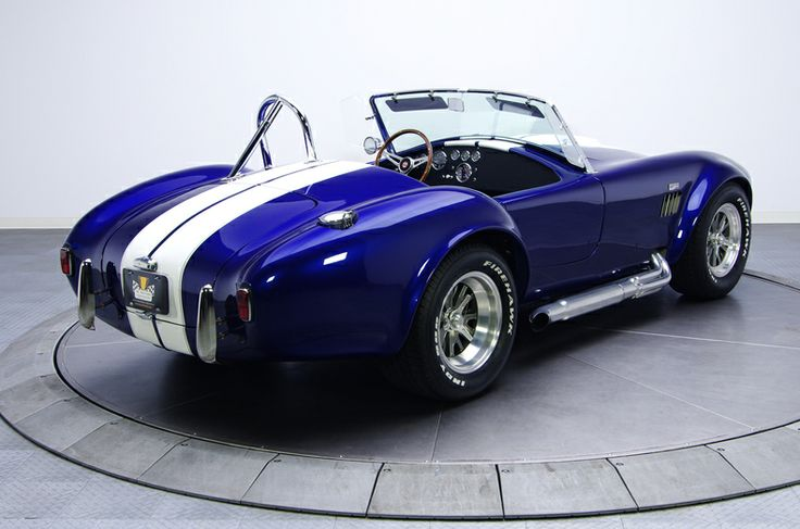 Build Your Own Cobra Kit Car >> AC Cobra HOK Cobalt blue over Orion Silver | Muscle Cars | Pinterest | Ac cobra and Cars