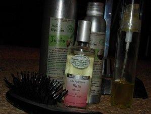 Les huiles végétales : un miracle pour mes cheveux