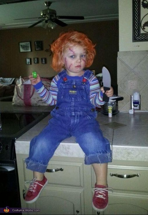 Chucky Costume - 2014 Halloween Costume Contest