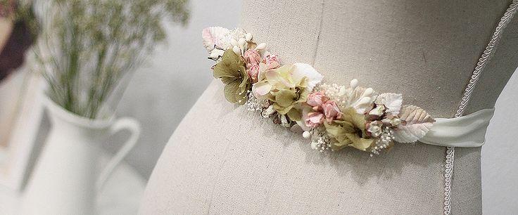 INDIA tiaras y tocados   tiaras de flores