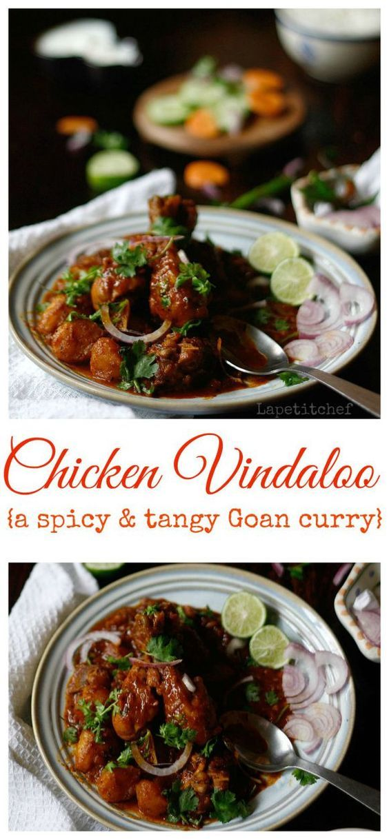 Chicken Vindaloo curry