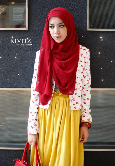 Fitri Aulia, an Indonesian fashion designer