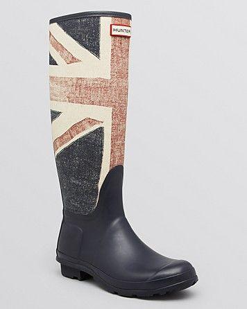 Hunter Rainboots - British Flag | Bloomingdale's